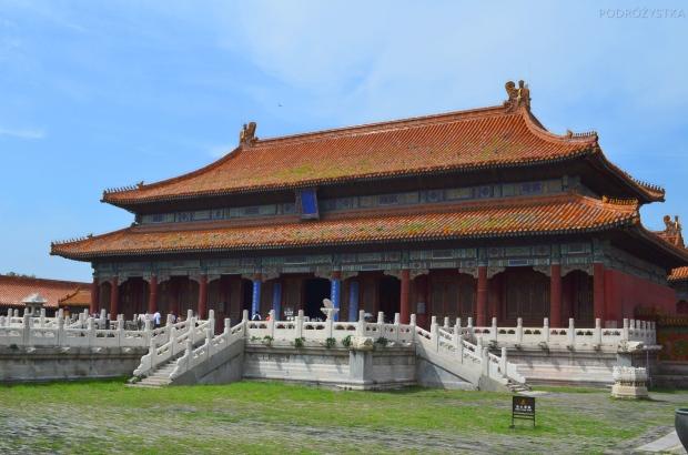 Chiny, Pekin, Zakazane Miasto, Sala Wielkiego Zwierzchnictwa (Hall of Great Supremacy)