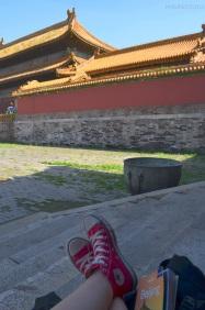 Chiny, Pekin, Zakazane Miasto, przerwa!