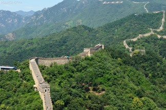 Chiny, okolice Mutianyu, Wielki Mur Chiński