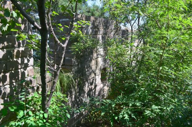 """Chiny, okolice Mutianyu, Wielki Mur Chiński, """"dzika"""" część Muru"""
