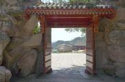 Chiny, okolice Mutianyu, Wielki Mur Chiński, wejście - widok od wyjścia