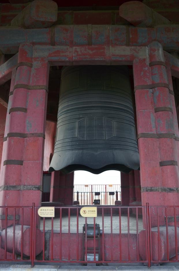 Chiny, Pekin, dzwon w Bell Tower