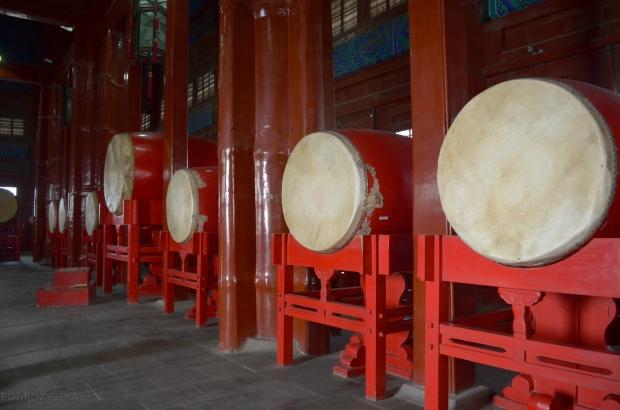 Chiny, Pekin, bębny w Drum Tower