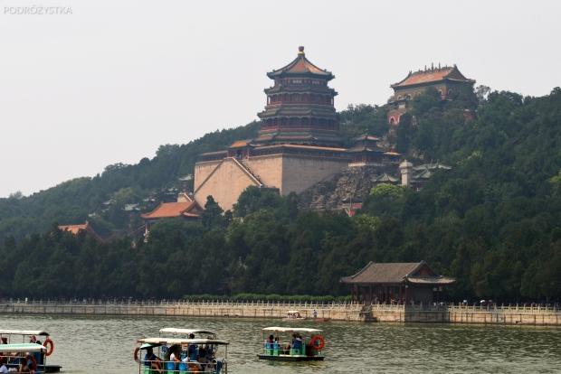 Chiny, Pekin, Summer Palace, Longevity Hill (Wzgórze Długowieczności)