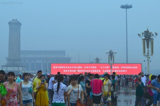 Chiny, Pekin, plac Tian'anmen Square