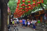 Chiny, Pekin, hutongi w okolicy Nanluogu Xiang