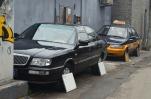 Chiny, Pekin, do dziś nie wiem, czemu przykrywają koła samochodów