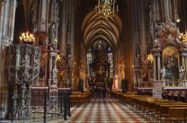 Austria, Wiedeń, wnetrze katedry Św. Szczepana