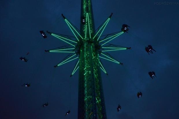 Austria, Wiedeń, park rozrywki Prater - no i w górę!