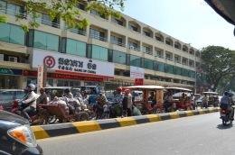 Kambodża, Phnom Penh, korki..