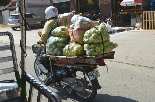 """Kambodża, Phnom Penh, """"Ja nie zmieszczę?!"""", odsłona pierwsza"""