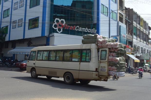 """Kambodża, Phnom Penh, """"Ja nie zmieszczę?!"""", odsłona trzecia"""
