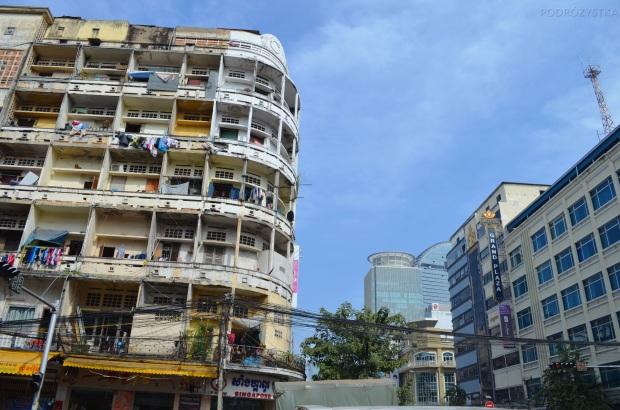 Kambodża, Phnom Penh, centrum miasta