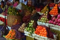 Kambodża, Phnom Penh, stragan z owocami