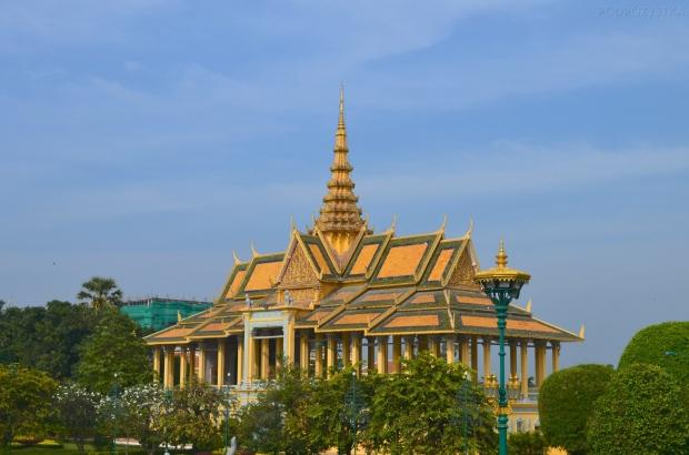 Kambodża, Phnom Penh, kompleks Pałacu Królewskiego