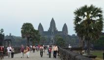 Kambodża, Siem Reap, Angkor Wat, podejście pierwsze