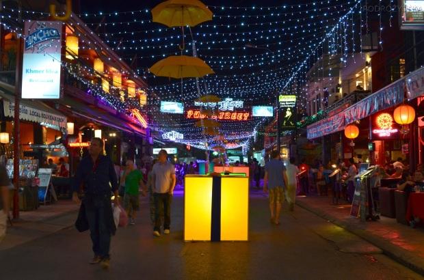 Kambodża, Siem Reap, Pub Street