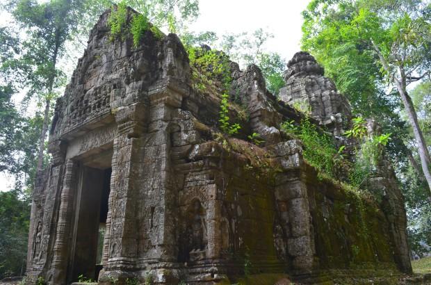 Kambodża, Siem Reap, ruiny w Preah Khan