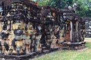 Kambodża, Siem Reap, taras słoni