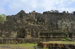 Kambodża, Siem Reap, co widać na obrazku? (oprócz tego, że ścianę)