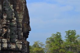 Kambodża, Siem Reap, Bayon, spokój i cisza