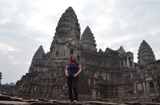 Kambodża, Siem Reap, Angkor Wat, podejście trzecie - sukces!