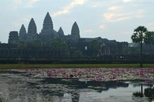 Kambodża, Siem Reap, Angkor Wat w pełnej krasie