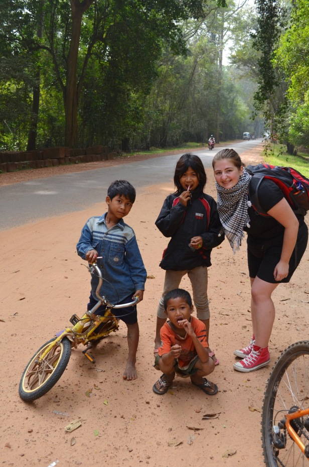 Kambodża, Siem Reap, Angkor Wat, :)