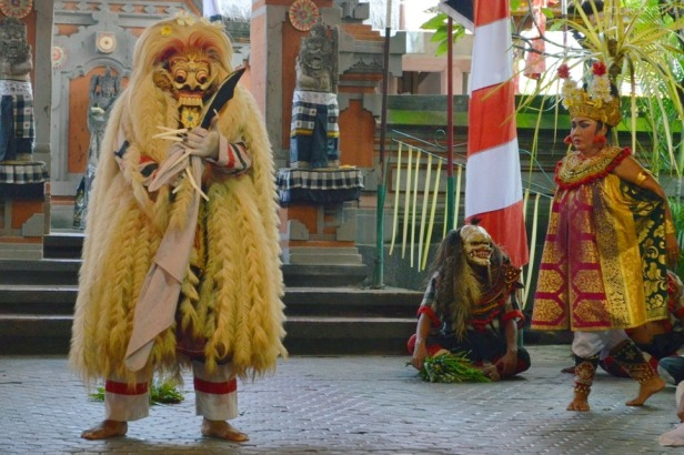 Indonezja, wyspa Bali, Barong and Kris dance