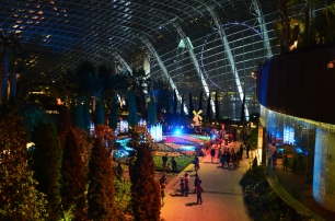 Singapur, Gardens by the Bay, Flower Dome