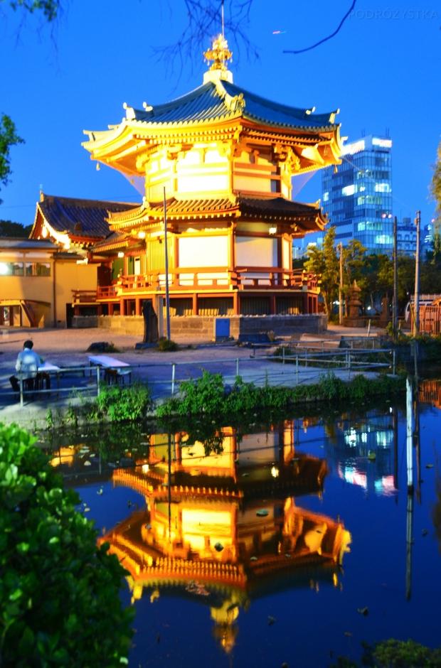Japonia, Tokio, świątynia Benten-do