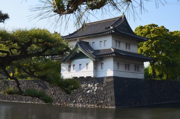 Japonia, Tokio, budynek Pałacu Cesarskiego