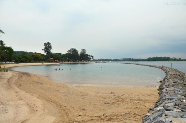 Singapur, wyspa Kusu, plaża