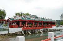 Singapur, wyspa Kusu, świątynia Da Bo Gong