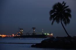 Singapur, Sentosa, Palawan Beach