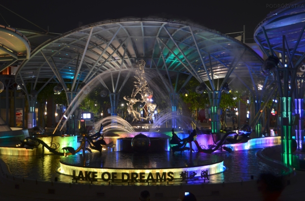 Singapur, Sentosa, Lake of Dreams