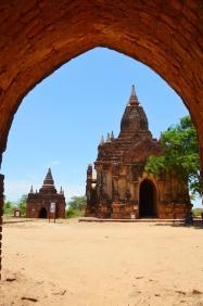Birma (Mjanma), Bagan, świątynie nieopodal Shwe Zigon Zedi Pagoda