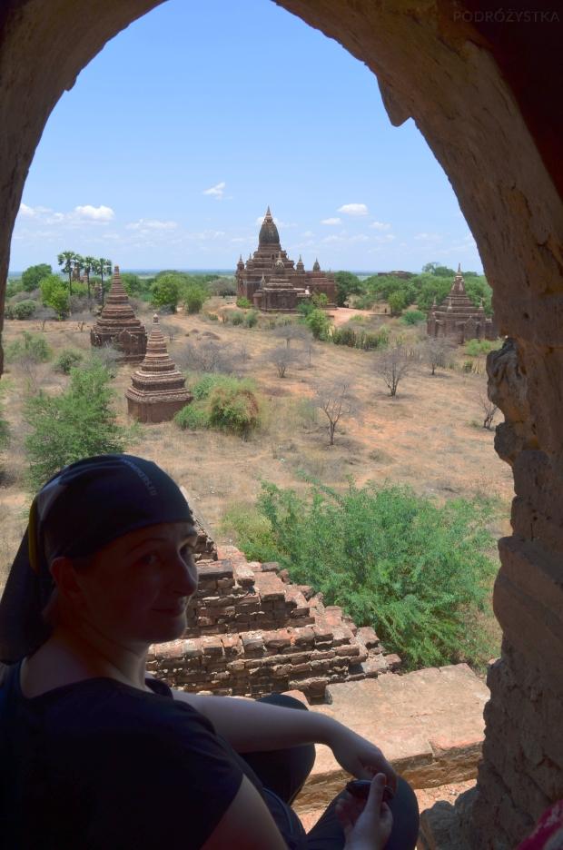 Birma (Mjanma), Bagan, na górze jednej ze świątyń