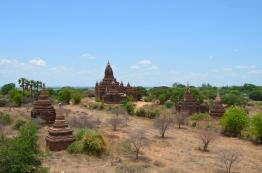 Birma (Mjanma), Bagan, widok na okolicę