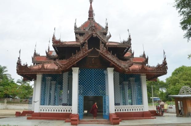 Birma (Mjanma), Mingun, budynek, w którym znajduje się Mingun Bell
