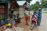 Birma (Mjanma), Mingun, lokalne sklepy
