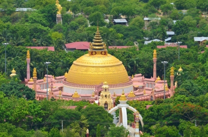 Birma (Mjanma), Sagaing, International Buddhist Academy
