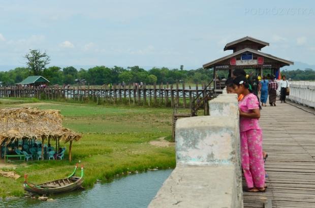 Birma, Amarapura, U-Bein Bridge