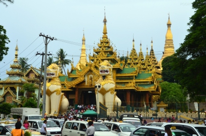 Birma, Yangon, Shwedagon Pagoda