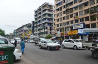 Birma, Yangon, ulice miasta