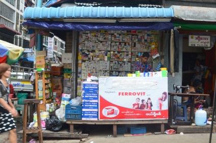 Birma, Yangon, apteka