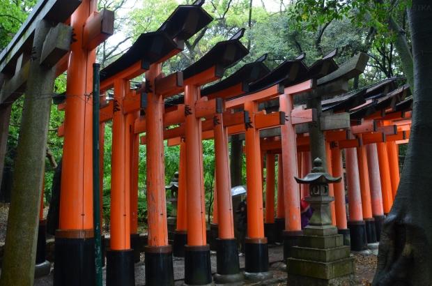 Japonia, Kyoto, Fushimi Inari-taisha, Torii