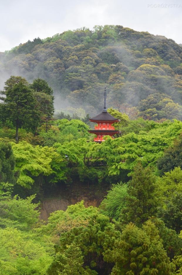 Japonia, Kyoto, kompleks Kiyomizu, pagoda