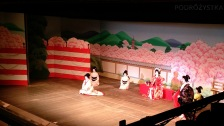 Japonia, Kyoto, Ponto-cho Kaburen-jo Theatre, odsłona pierwsza przedstawienia