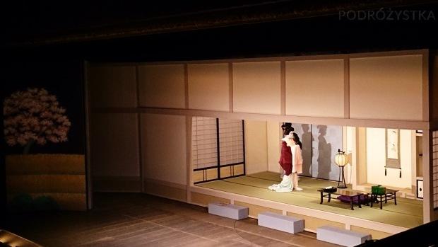 Japonia, Kyoto, Ponto-cho Kaburen-jo Theatre, odsłona druga przedstawienia